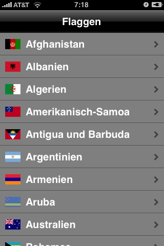 Flags screenshot 1