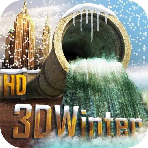 PipeRoll 3D New York Winter HD iOS App
