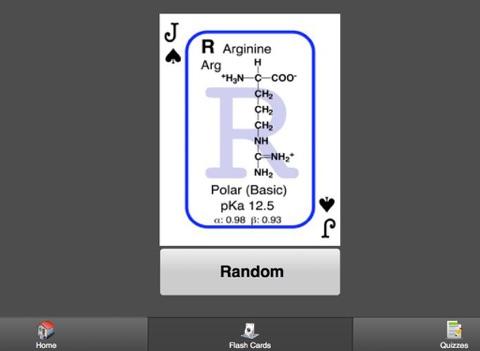 Biochem Flash Cards HD screenshot 2