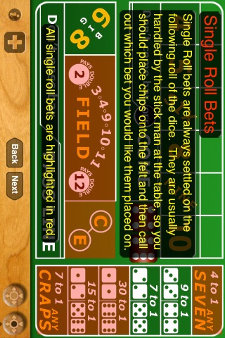 Casino Craps Tutorial screenshot four
