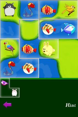 Animal Paradise Puzzle HD screenshot 2