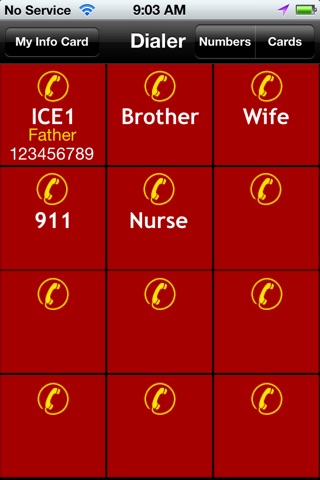 ICE, In Case of Emergency screenshot 4
