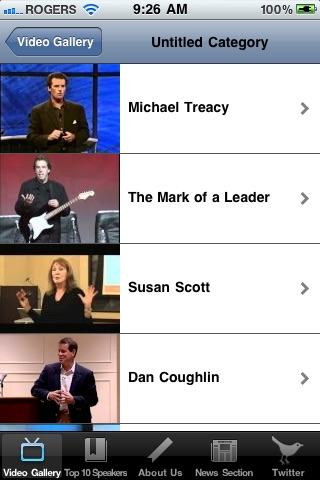 Speakers Bureau screenshot 3