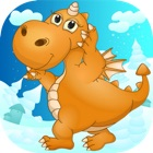 Clever DinoHD – A Highly Addictive & Fun Jumping Trick Puzzle Game icon