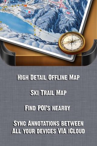 Via Lattea Ski and Offline Map screenshot 1