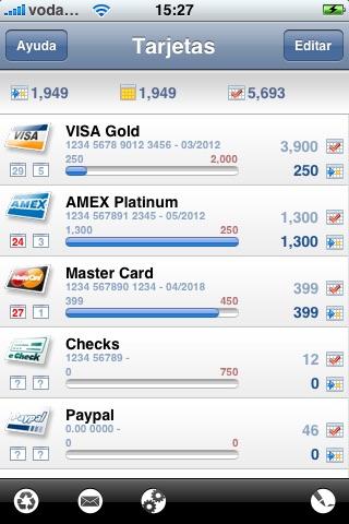 Credit Card Expense Manager screenshot 1