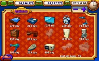 Screenshot #4 for Hotel Tycoon Lite