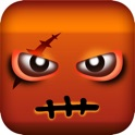 Square zombies icon
