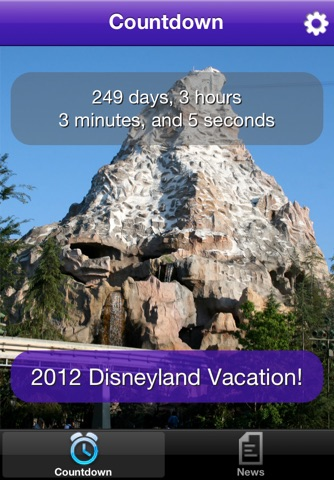 Trip Countdown for Disneyland screenshot 3
