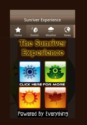The Sunriver Experience screenshot 1