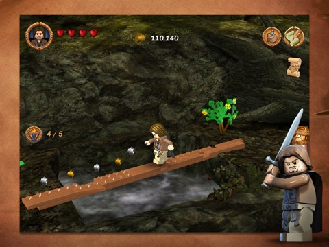 Screenshots of LEGO® The Lord of the Rings™ for iPad
