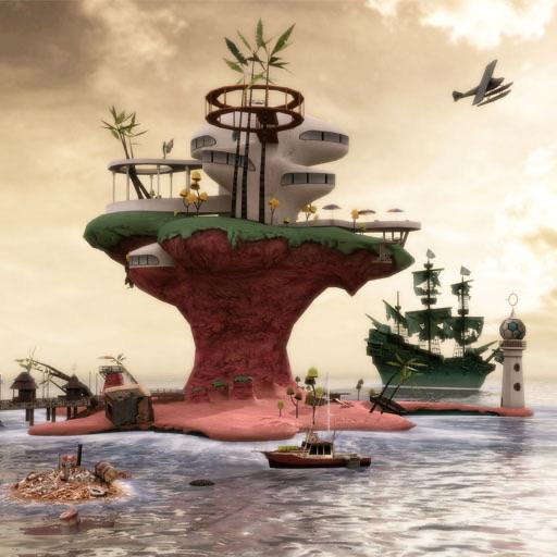 Gorillaz - Escape to Plastic Beach