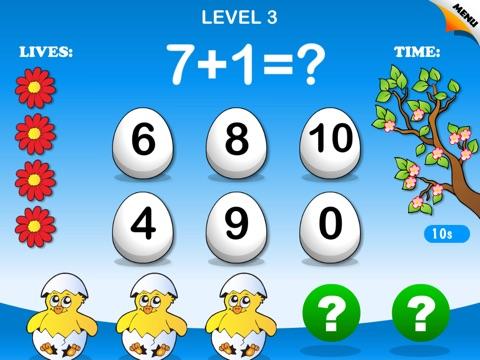 Abby Monkey: Spring Math - Math Games screenshot 1