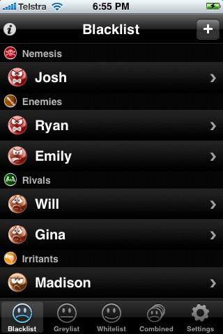 My Blacklist screenshot 1