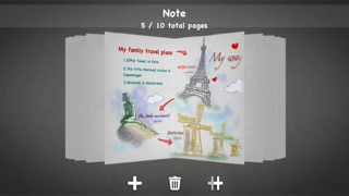Screenshot #1 for My Sketch Paper HD - Write, Paint on Notebook