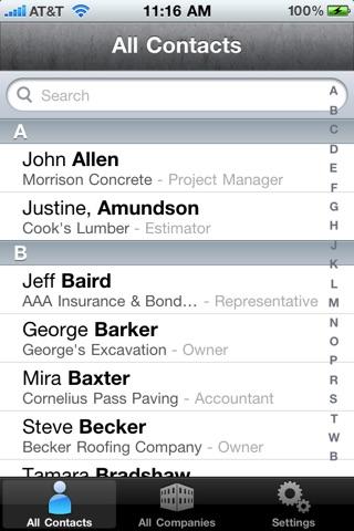 Address Book screenshot 1