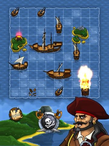 Морской бой! Пираты!  HD LITE на iPad