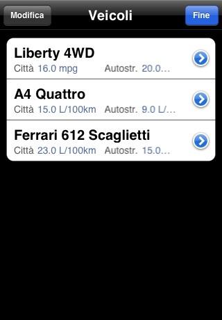 AccuFuel screenshot 4