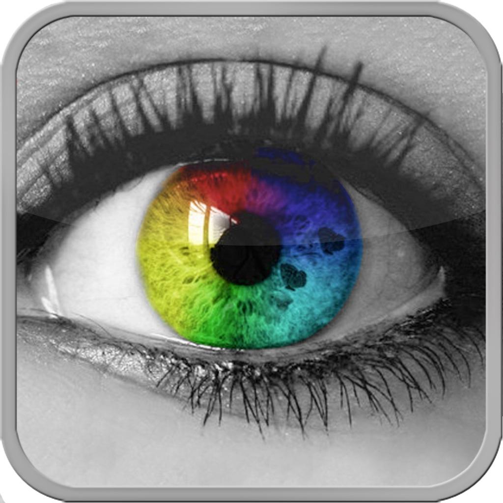 Фото с разными цветами глаз