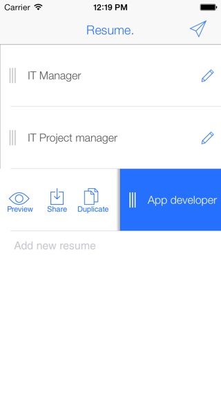my first resume for first time job seekers on the app store