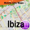 Ibiza Street Map.