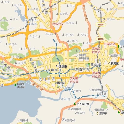 深圳地图 Offline