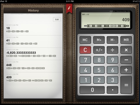 Calculator • screenshot 1