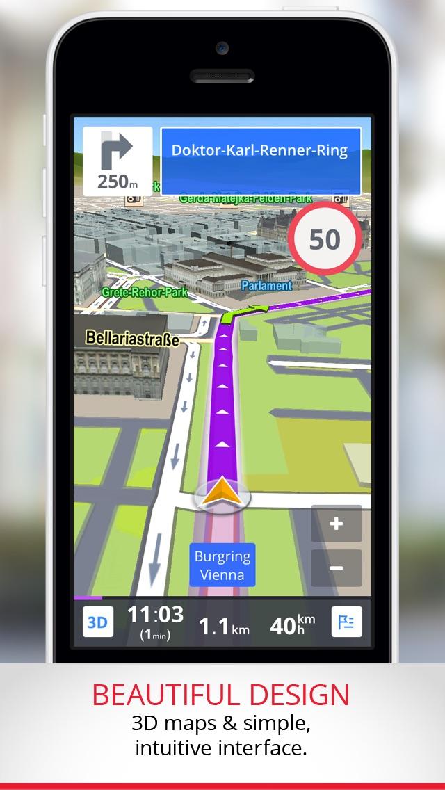 Sygic Central Europe: GPS Navigation | Apple 4 Ever