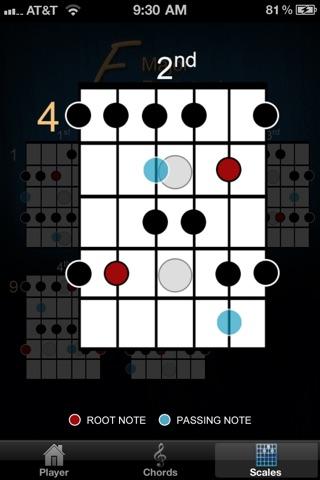 Screenshot #4 for Guitar Jam Tracks: Humbucker Blues