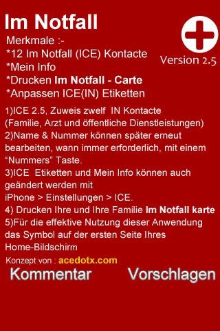 ICE, In Case of Emergency screenshot 3