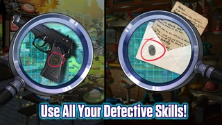 Screenshots of Hidden Objects: Mystery Crimes for iPhone