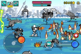 Screenshots of Cartoon Wars: Gunner+ for iPhone