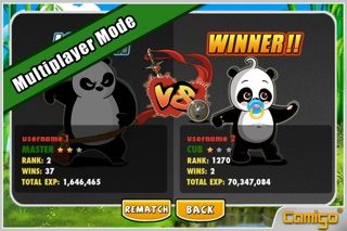 Screenshots of MeWantBamboo - Become The Master Panda for iPhone