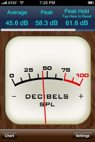 Decibel Meter screenshot 2