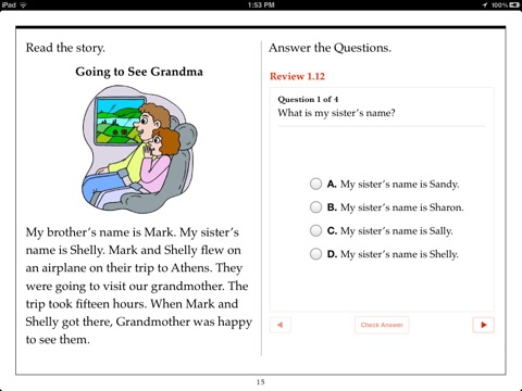 First Grade Reading Comprehension by Aaron Levy on iBooks