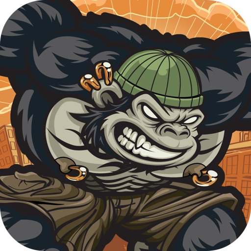 Gorilla City - Run, Jump and Fly Adventure iOS App