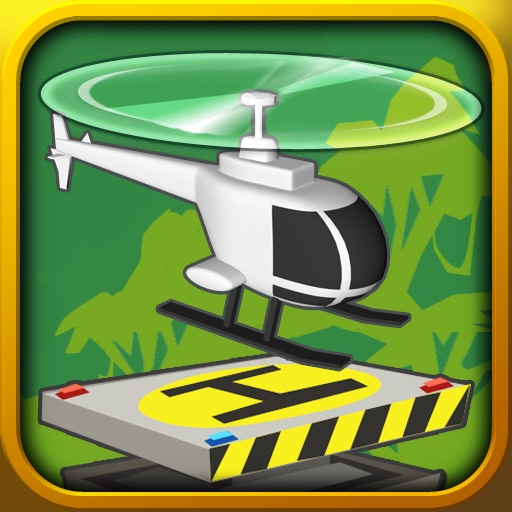 Paper Glider Crazy Copter iOS App