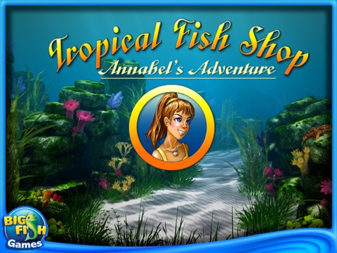 Tropical Fish Shop: Annabel's Adventure HD (Full) screenshot 1