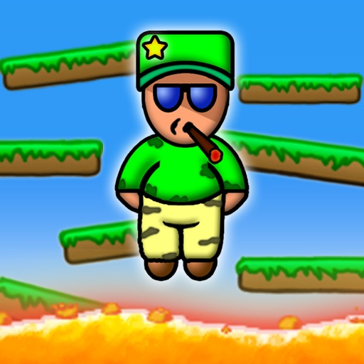 Jump Away -  An awesome addictive PapiJump remake! iOS App