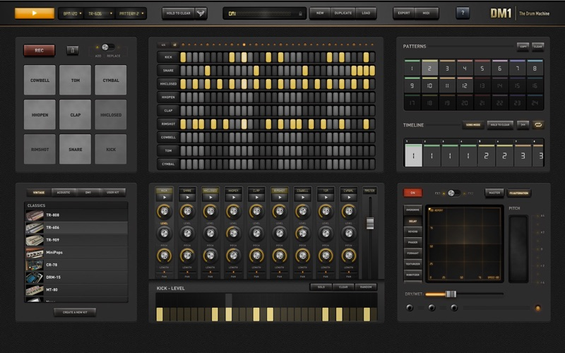 DM1 - The Drum Machine Screenshots