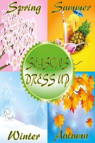 Season Dress Up Game screenshot 1