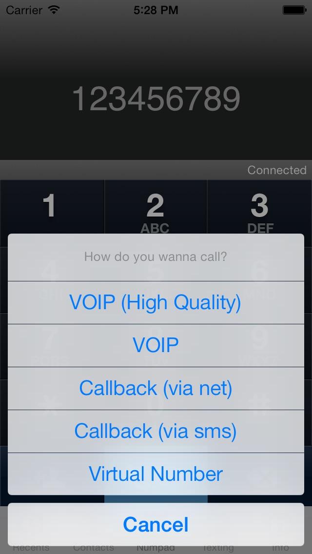 S3Phone Appels GratuitsCapture d'écran de 4