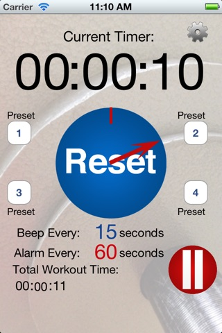Workout Time Lite screenshot 1
