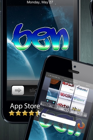 Graffiti Tag Creator - Custom Wallpapers/Backgrounds, Lock Screen & Home Screens screenshot 1