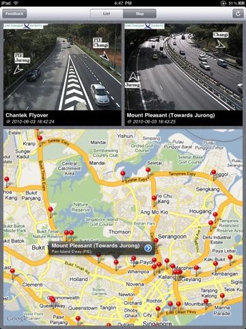 Trafficam SG for iPad (XL) screenshot 2