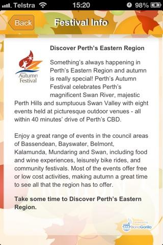 Perth's Autumn Festival screenshot 3