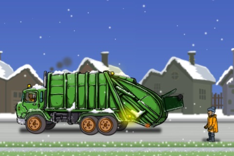 Garbage Truck: Snow Time screenshot 4