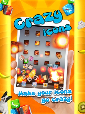 Crazy Icons Prank - Make your Icons Bounce Around Screenshot
