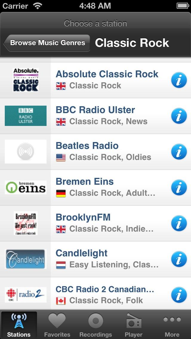 Internet Radio Box Screenshot 4