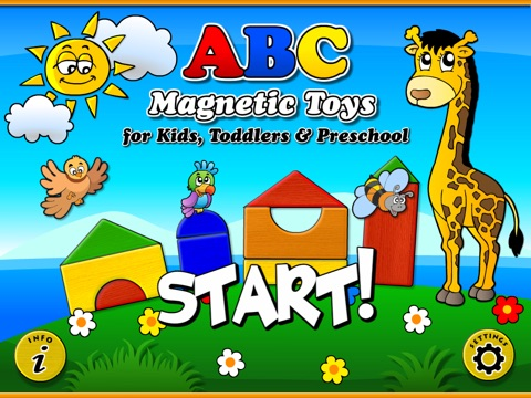 Abby Magnetic Toys (Toys, Letters, Building blocks, Animals, Vehicles) for Kids (Baby, Toddler, Preschool) HD screenshot 1